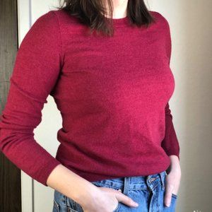 Merino Wool Banana Republic Crewneck Sweater
